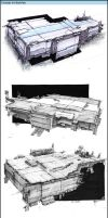 Concept Art Sketches Part 1 by zilekondic