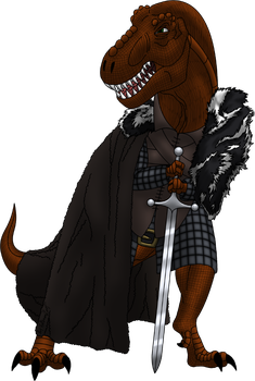Poharex Dressed As Ned Stark by Poharex