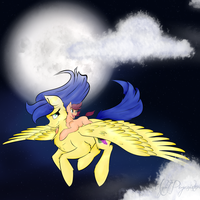 NightFlight - Commission by MyLilPegasister