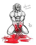 Wolverine's Owwie - NOV '11 Sketch a Day 13 by JeremiahLambertArt