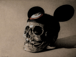 The Death of Mickey Mouse by cifuso