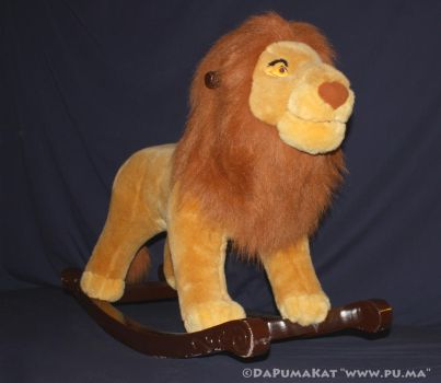 The Lion King - Adult Simba / Mufasa Rocker - 2003 by dapumakat
