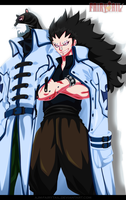 FairyTail 426 | Gajeel and Lily by AJM-FairyTail