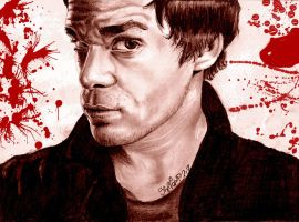 Dexter Morgan by SheVampVonV