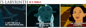Pan's Labyrinth in 3 Panels by Cilmeron