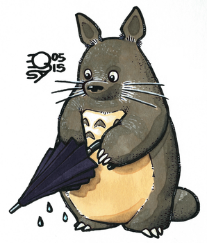 Totoro by Qsy-and-Acchan