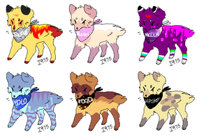 Auction Adoptables ((Please read rules!)) by KiitcattTheWild
