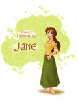 Disney Heroines - Jane by SummersWorld