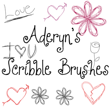 Scribble Brushes by Aderyn-Azula