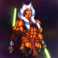 Strong with the force... colored by Ritualist