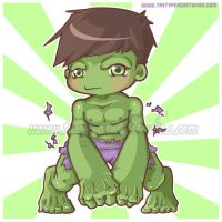 The Increadibly Cute Hulk by MoogleGurl