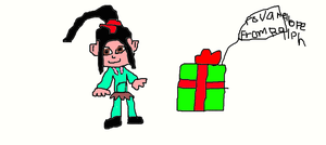 A Gift for Vanellope by Simpsonsfanatic33