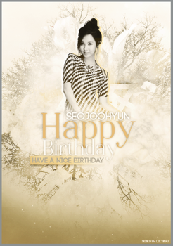 142706. HAPPY BIRTHDAY SEOHYUN by Lee-Yinah