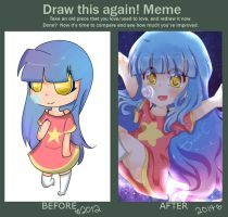 Draw This Again: Starling Wish OC by beabi-chan