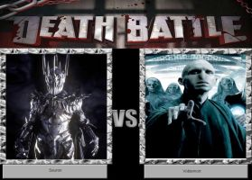 DEATH BATTLE Idea Sauron VS Lord Voldemort by JefimusPrime