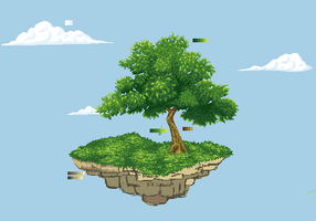 Day Forty: Island WIP by askaniblue