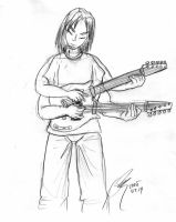 Sketchbook: Shivite Guitar by arconius
