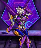 thunderblast prime style wip 2016 calender by SuperSaiyan3Scooby