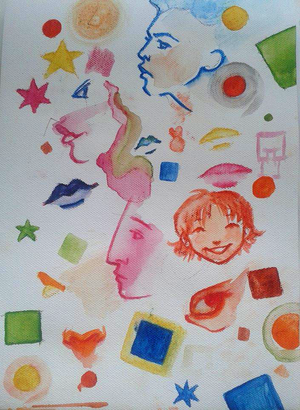 Watercolour-play by Psycadela