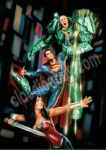 SUPERMAN AND LUTHOR CLAUDIO ABOY by claudioaboy