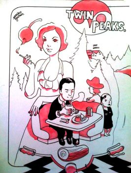 twin peaks by royalboiler
