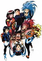 tenchi intro art by CD007