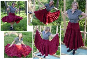 The monster skirt by FrockTarts