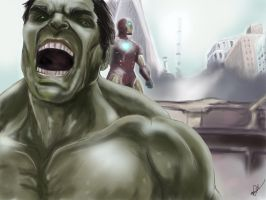 We have a Hulk by KOZMO-ART