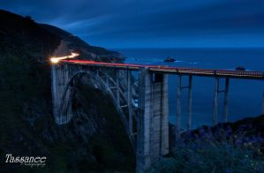 Bixby Bridge by tassanee
