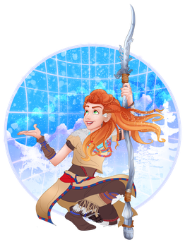 Aloy the Annointed One by imajanaeshun