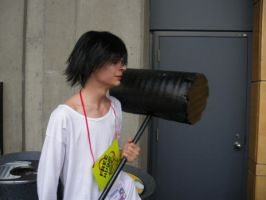 L with hammer - Otakuthon 2008 by Ryukai-MJ