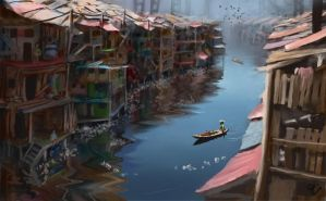 River Slums by jjpeabody