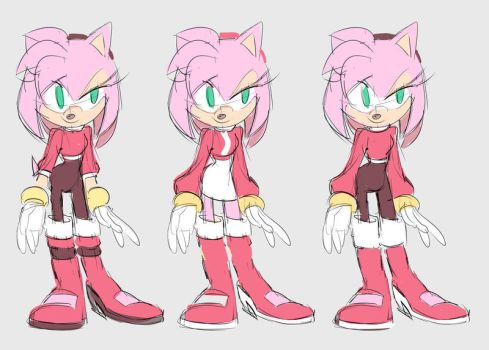 Amy outfit design - The Shine by Shira-hedgie