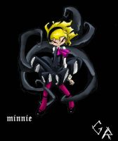 minnie vercion goth by grimtalesreaper
