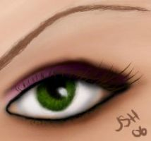 Eye practise by Jenuary