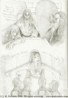Lord of the Rings sketches 1 by jmdesantis