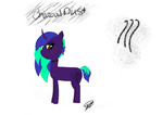 Charcoal Dust MLP OC Adopt (OPEN) by RadianceDashZelda