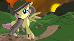 Fluttergangster striking a pose by gipplord