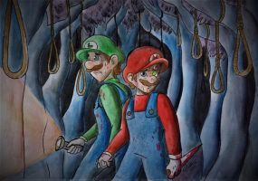 The Forest of Suicide - (Mario) The Music Box by Elwensa