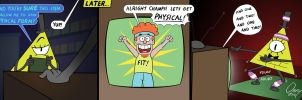 Bill Gets Physical by Omny87