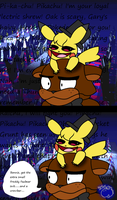 Pokeweirdos- Crazy pika by YoshiMister