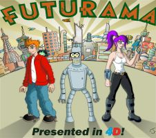 Futurama New New York by coldangel1