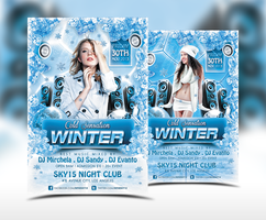Winter Cold Sensation Flyer Template by ranvx54