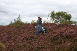 Jane Eyre on the moor by Hathaways