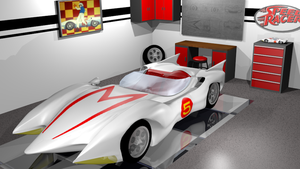 Mach 5 Garage by BlazingEclipse8