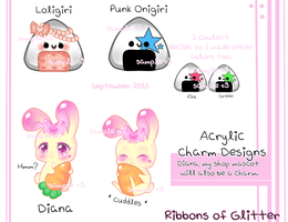 Sample Charm Designs by Sweet-Ribbons