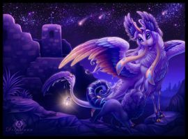 Mystic Night by DolphyDolphiana