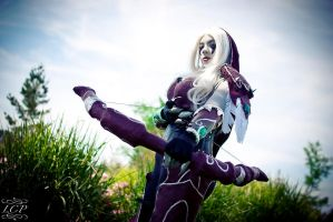 Lady Sylvanas 1 by Luxani