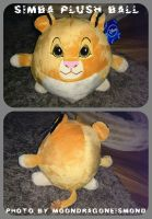 Sweet Simba Plush Ball - TLK by MoondragonEismond