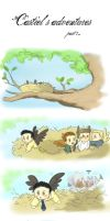 Castiel's Adventures by corbeauprophet